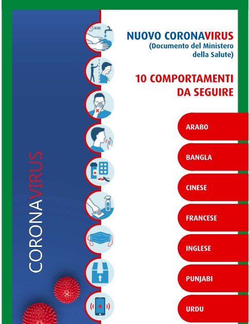 Coronavirus 10 Comportamenti Da Seguire Multilingue