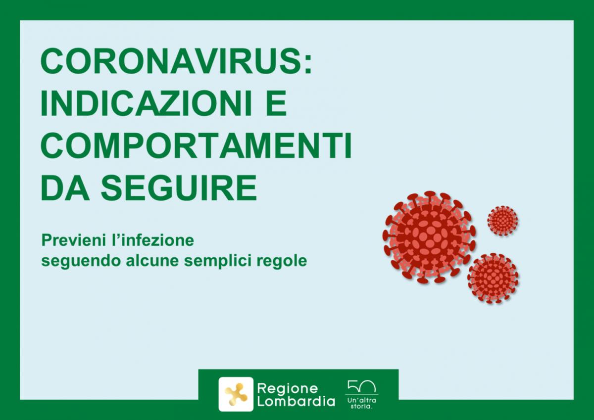 Regione Lombardia: Obbligo Di Proteggersi Con Mascherine E Sciarpe Quando Si Esce Di Casa